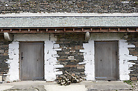 barn in Cumbria with double doorway