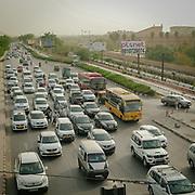 Traffic in Delhi.