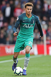March 9, 2019 - Southampton, England, United Kingdom - Tottenham midfielder Dele Alli back in action during the Premier League match between Southampton and Tottenham Hotspur at St Mary's Stadium, Southampton on Saturday 9th March 2019. (Credit Image: © Mi News/NurPhoto via ZUMA Press)