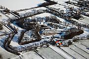 Nederland, Utrecht, De Bilt, 31-01-2010; Groenekan, Fort Voordorp, onderdeel van Nieuwe Hollandse Waterlinie, nu in gebruik als evenementenlokatie (presentaties, personeelsfeesten, congressen);.Groenekan, Fort Voordorp, part of New Holland Water Linie, now used as an event location (presentations,parties, conferences).luchtfoto (toeslag), aerial photo (additional fee required).foto/photo Siebe Swart