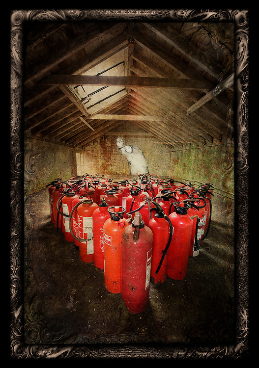 Fire extinguishers at West Park Asylum