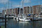 Haven in Scheveningen, Den Haag - Harbour of Scheveningen, The Hague, Netherlands