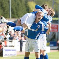 St Johnstone FC April 2009