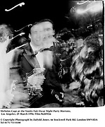 Nicholas Cage at the Vanity Fair Oscar Night Party Mortons,  Los Angeles. 25 March 1996. Film.96205f26<br />© Copyright Photograph by Dafydd Jones<br />66 Stockwell Park Rd. London SW9 0DA<br />Tel 0171 733 0108