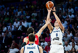 Edo Muric of Slovenia during the Final basketball match between National Teams  Slovenia and Serbia at Day 18 of the FIBA EuroBasket 2017 at Sinan Erdem Dome in Istanbul, Turkey on September 17, 2017. Photo by Vid Ponikvar / Sportida