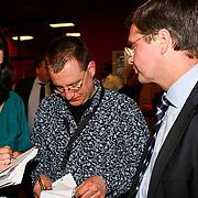 NLD/Hilversum/20100121 - Benefietactie voor het door een aardbeving getroffen Haiti, Jan Peter Balkenende