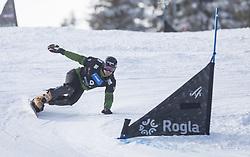 Yankov Radoslav during the FIS snowboarding world cup race in Rogla (SI / SLO) | GS on January 20, 2018, in Jasna Ski slope, Rogla, Slovenia. Photo by Urban Meglic / Sportida