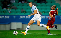 Blaz Kramer of Slovenia during the UEFA Nations League C Group 3 match between Slovenia and Moldova at Stadion Stozice, on September 6th, 2020. Photo by Vid Ponikvar / Sportida