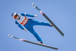 24.02.2021, Oberstdorf, GER, FIS Weltmeisterschaften Ski Nordisch, Oberstdorf 2021, Herren, Skisprung, HS106, Training, im Bild Antti Aalto (FIN) // Antti Aalto of Finland during a training session for the men ski Jumping HS106 Competition of FIS Nordic Ski World Championships 2021. in Oberstdorf, Germany on 2021/02/24. EXPA Pictures © 2021, PhotoCredit: EXPA/ Dominik Angerer