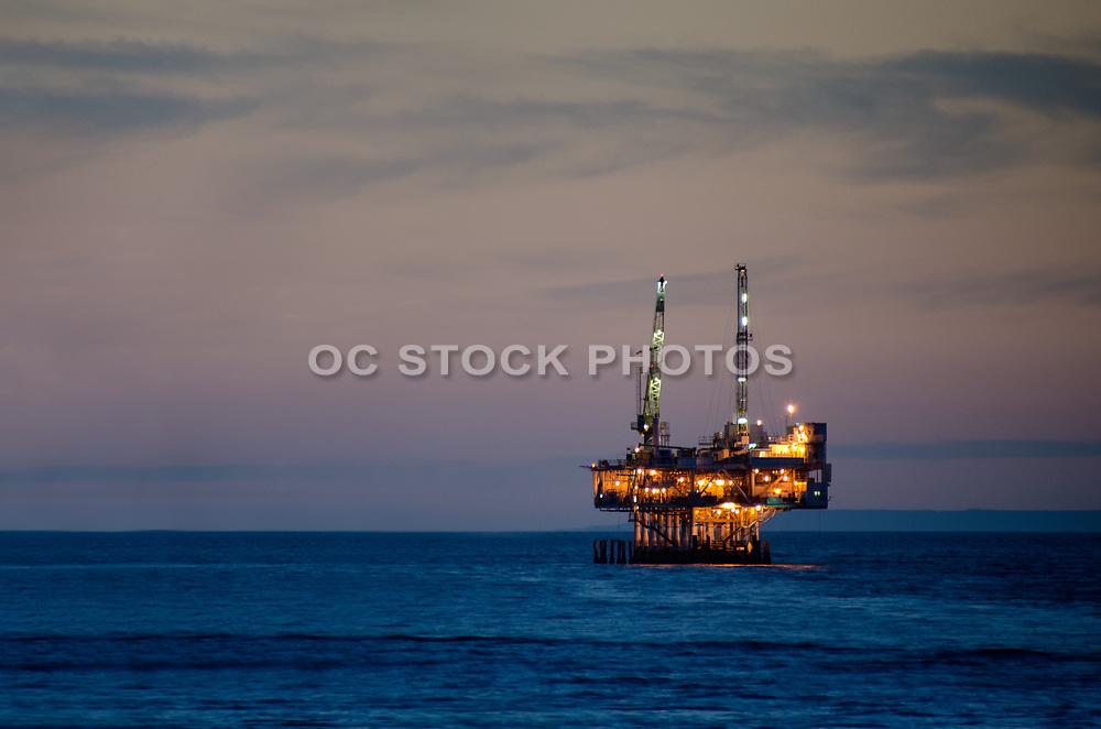 Off Shore Oil Platform Seal Beach