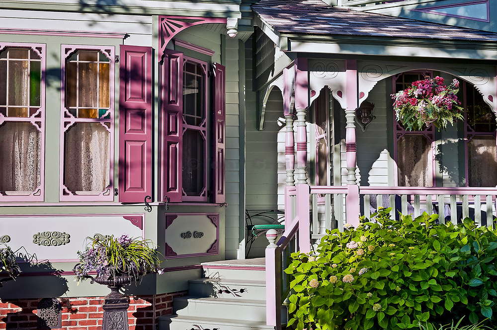 Beautiful victorian house in Cape May, New Jersey, NJ, USA