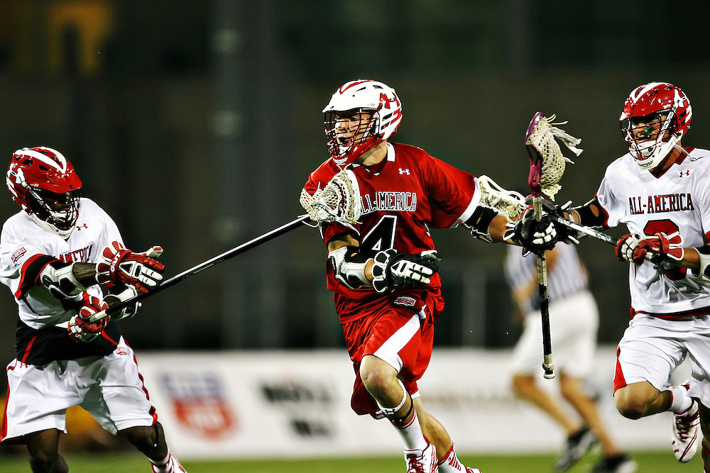 The 2011 Under Armour All American Lacrosse game. Mandatory Credit: Peter J.Casey