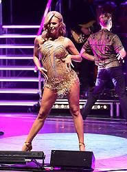 Nadiya Bychkova attending the Strictly Come Dancing Professionals UK Tour at Elstree Studios, London.