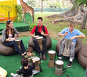 Ariel Fox, Brandon Johnson and Chris Brochu..2011 Celebrity Picnic Sponsored By Disney, Time For Heroes, To Benefit The Elizabeth Glaser Pediatric AIDS Foundation - Inside..Wadsworth Theater Lawn..Los Angeles, CA, USA..Sunday, June 12, 2011..Photo By CelebrityVibe.com..To license this image please call (212) 410 5354; or.Email: CelebrityVibe@gmail.com ;.website: www.CelebrityVibe.com