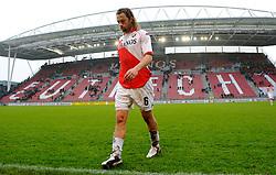 08-11-2009 VOETBAL: FC UTRECHT - HEERENVEEN: UTRECHT<br /> Utrecht verliest met 3-2 van Heerenveen / Gregoor van Dijk en stadion Nieuw Galgenwaard<br /> ©2009-WWW.FOTOHOOGENDOORN.NL