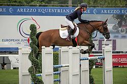 Pritchard Christie (GBR) - Waldemar<br /> FEI European Jumping Championship for young riders <br /> Arezzo 2014<br /> © Hippo Foto - Stefano Secchi
