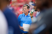 KANSAS CITY, MO - SEPTEMBER 30:  Head Coach Norv Turner of the San Diego Chargers on the sidelines during a game against the Kansas City Chiefs at Arrowhead Stadium on September 30, 2012 in Kansas City, Missouri.  The Chargers defeated the Chiefs 37-20.  (Photo by Wesley Hitt/Getty Images) *** Local Caption *** Norv Turner Sports photography by Wesley Hitt photography with images from the NFL, NCAA and Arkansas Razorbacks.  Hitt photography in based in Fayetteville, Arkansas where he shoots Commercial Photography, Editorial Photography, Advertising Photography, Stock Photography and People Photography