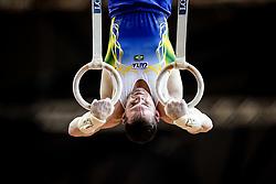 November 2, 2018 - Doha, Qatar - Arthur Zanetti of Brazil   during  Rings for Men at the Aspire Dome in Doha, Qatar, Artistic FIG Gymnastics World Championships on 2 of November 2018. (Credit Image: © Ulrik Pedersen/NurPhoto via ZUMA Press)