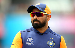 India's Mohammed Shami during the ICC Cricket World Cup group stage match at Edgbaston, Birmingham.