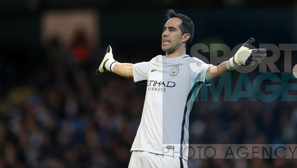 during the English Premier League match at The Etihad Stadium, Manchester. Picture date: December 12th, 2016. Photo credit should read: Lynne Cameron/Sportimage