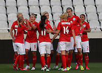 Fifa Womans World Cup Canada 2015 - Preview //<br /> Cyprus Cup 2015 Tournament ( Gsp Stadium Nicosia - Cyprus ) - <br /> Australia vs England 0-3   // Jodie Taylor of England (9-Middle) , celebrates with team mates after his 1th Goal (0-1)
