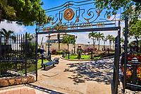 Guayaquil , Ecuador- March 8 , 2020 : Santa Anna fort museum Las Penas district landmark of Guayaquil old town