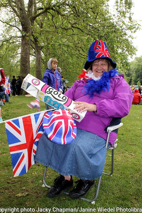 Rain and bad weather dominate Diamond Jubilee Celebrations in London 2012