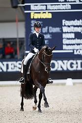 Husenbeth Nadine, GER, Faviola 3<br /> Longines FEI/WBFSH World Breeding Dressage Championships for Young Horses - Ermelo 2017<br /> © Hippo Foto - Dirk Caremans<br /> 04/08/2017