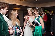 LADY DALMENY; IONA DUCHESS OF ARGYLL, The Royal Caledonian Ball 2013. The Great Room, Grosvenor House. Park lane. London. 3 May 2013.