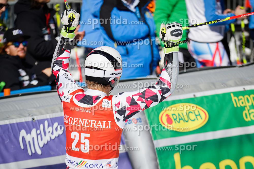 Manuel Feller (AUT) during Men Giant Slalom race of FIS Alpine Ski World Cup 55th Vitranc Cup 2015, on March 4, 2016 in Kranjska Gora, Slovenia. Photo by Ziga Zupan / Sportida