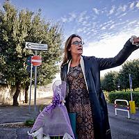 Ilaria Cucchi ricorda all'Ospedale Pertini la morte di Stefano Cucchi.