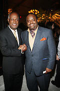 14 June 2010- Harlem, New York- l to r: Sr. VP Multicultural Relations, Moet Hennessey, Noel Hankin and Roland Martin at The Apollo Theater's 2010 Spring Benefit and Awards Ceremony hosted by Jamie Foxx inducting Aretha Frankilin and Michael Jackson, and honoring Jennifer Lopez and Marc Anthony co- sponsored by Moet et Chandon which was held at the Apollo Theater on June 14, 2010 in Harlem, NYC. Photo Credit: Terrence Jennngs/Sipa