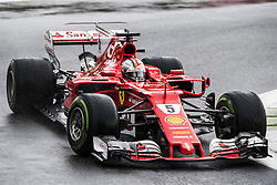 September 2, 2017 - Monza, Italy - Motorsports: FIA Formula One World Championship 2017, Grand Prix of Italy, .#5 Sebastian Vettel (GER, Scuderia Ferrari) (Credit Image: © Hoch Zwei via ZUMA Wire)