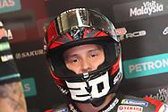#20 Fabio Quatararo, French: Petronas Yamaha SRT during the Motul Dutch TT MotoGP, TT Circuit, Assen, Netherlands on 30 June 2019.