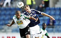 Fotball, 18. juli  2010 , Tippeligaen<br /> Viking - Hønefoss 3-0<br /> Indridi Sigurdsson  , Viking og Kamal Saaliti , Hønefoss<br /> <br /> Foto: Anders Hoven , Digitalsport