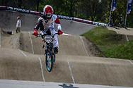 #993 (NAGASAKO Yoshitaku) JPN at the 2016 UCI BMX Supercross World Cup in Papendal, The Netherlands.