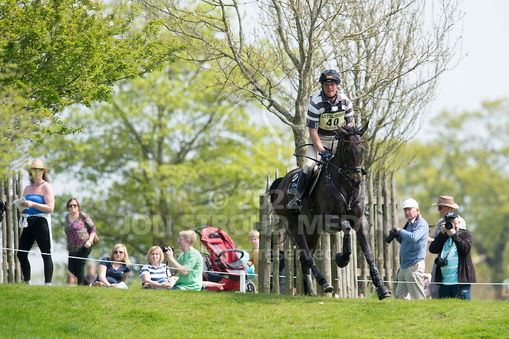 Andreas Ostholt (GER) & So Is Et - Cross Country - CCI4* - Mitsubishi Motors Badminton Horse Trials 2016 - Badminton, Gloucestershire, United Kingdom - 07 May 2016