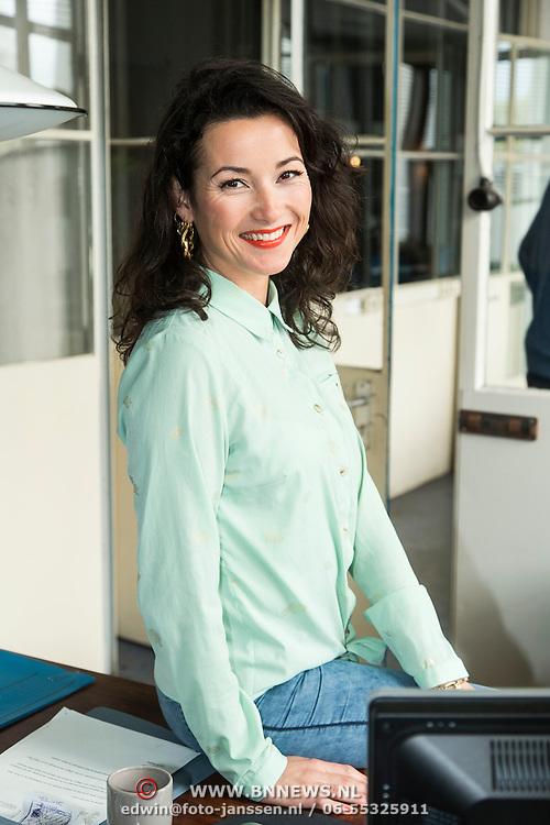 NLD/Zaandam/20140408 - Perspresentatie SBS serie Rechercheur Ria, Birgit Schuurman