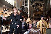 MAUREEN SUTHERLAND SMITH; SIR NICHOLAS GRIMSHAW, Duchess Of Cornwall Turns On The Christmas Lights At Burlington Arcade.She also met shop keepers and guests, Piccadilly. LONDON, 19 November 2009