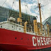 Baltimore's historic Inner Harbor.