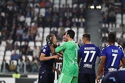 October 14, 2017 - Turin, Italy - Juventus goalkeeper Gianluigi Buffon (1) during the Serie A football match n.8 JUVENTUS - LAZIO on 14/10/2017 at the Allianz Stadium in Turin, Italy. (Credit Image: © Matteo Bottanelli/NurPhoto via ZUMA Press)