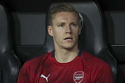 May 9, 2019 - Valencia, Valencia, Spain - Bernd Leno of Arsenal in action during UEFA Europa League football match, between Valencia and Arsenal, May 09th, in Mestalla stadium in Valencia, Spain. (Credit Image: © AFP7 via ZUMA Wire)