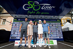 Employers of company TEM Catez after 5th Stage of 26th Tour of Slovenia 2019 cycling race between Trebnje and Novo mesto (167,5 km), on June 23, 2019 in Slovenia. Photo by Matic Klansek Velej / Sportida
