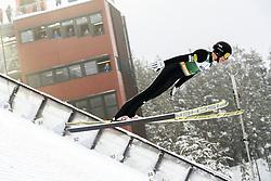February 8, 2019 - Lahti, Finland - Kristjan Ilves competes during Nordic Combined, PCR/Qualification at Lahti Ski Games in Lahti, Finland on 8 February 2019. (Credit Image: © Antti Yrjonen/NurPhoto via ZUMA Press)