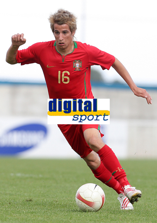 20090425: The Portuguese League is home to a growing number of African, Brazilian and Argentinean promising young players. ***FILE PHOTO*** 20090325: FUNCHAL, MADEIRA, PORTUGAL - Madeira vs Portugal: XIII Madeira International Under 21 Tournament. In picture: Fabio Coentrao (Portugal). PHOTO: Octavio Passos/CITYFILES