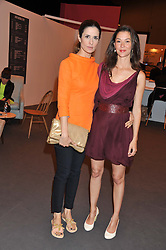 Left to right, LIVIA FIRTH and JOCELYN WHIPPLE at the Graduate Fashion Week Gala drinks reception held at Earls Court 2, London on 13th June 2012.