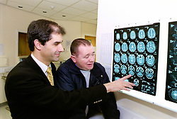 Paul officially openes Sheffield Royal Hallamshire Hospitals new MRI scanner