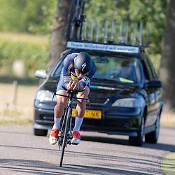 13-09-2020: Wielrennen: NK tijdrijden nieuwelingen en junioren: Chaam <br />Bart Hordijk