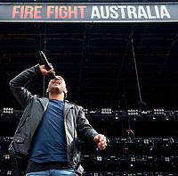 Peking Duk at Fire Fight Australia at the  ANZ Stadium Sydney Australa 16 Feb 2020 Photo BY Rhiannon Hopley