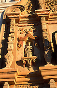 Detail of terra cotta relief on side of main entrance to Mission San Xavier del Bac, Tucson, Arizona..Subject photograph(s) are copyright Edward McCain. All rights are reserved except those specifically granted by Edward McCain in writing prior to publication...McCain Photography.211 S 4th Avenue.Tucson, AZ 85701-2103.(520) 623-1998.mobile: (520) 990-0999.fax: (520) 623-1190.http://www.mccainphoto.com.edward@mccainphoto.com.